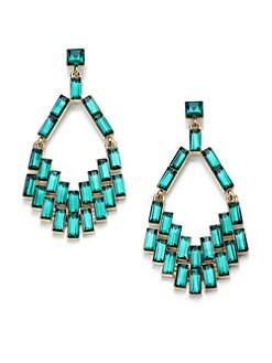ABS by Allen Schwartz Jewelry - Box of Jewels Baguette Chandelier Earrings
