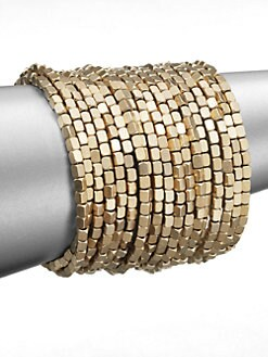 ABS by Allen Schwartz Jewelry - Beaded Coil Bracelet