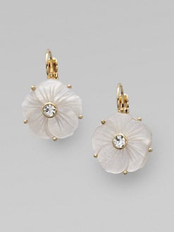 Kate Spade New York - Mother of Pearl Flower Earrings