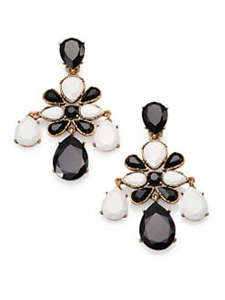 Oscar de la Renta - Chandelier Clip-On Earrings