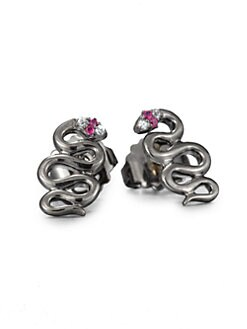 Elizabeth and James - Snake Stud Earrings