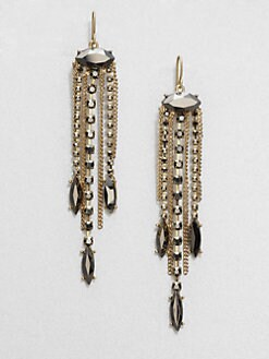 ABS by Allen Schwartz Jewelry - Chain Tassel Drop Earrings