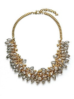 ABS by Allen Schwartz Jewelry - Beaded Cluster Link Necklace