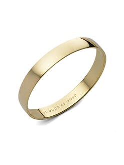 Kate Spade New York - Idiom Goldplated Bracelet