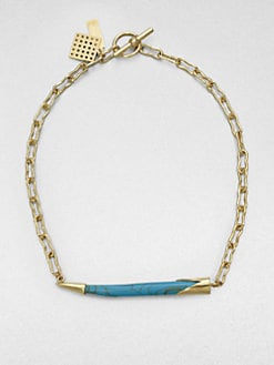 Kelly Wearstler - Sideways Horn Necklace