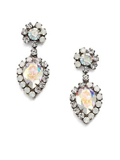 DANNIJO - Swarovski Crystal Drop Earrings