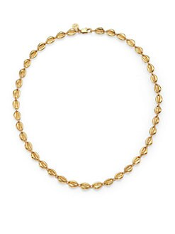 Tory Burch - Mikah Seashell Simple Strand Necklace