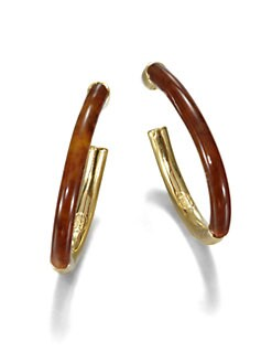 Kara by Kara Ross - Split Hoop Earrings/2