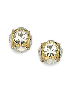 Kate Spade New York - Cage Sparkle Stud Earrings