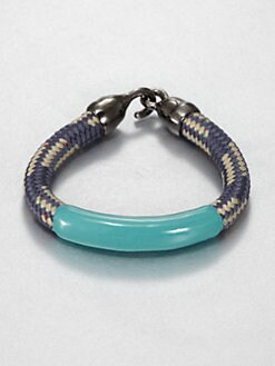 Orly Genger - Annabelle Enamel Dipped Rope Bracelet
