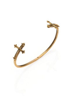 Bing Bang - Victorian Double Cross Bracelet