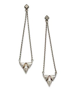 Bing Bang - Trident Drop Earrings
