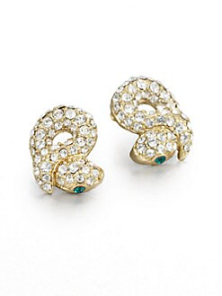ABS by Allen Schwartz Jewelry - Sparkle Snake Earrings