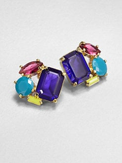 Kate Spade New York - Faceted Cluster Earrings