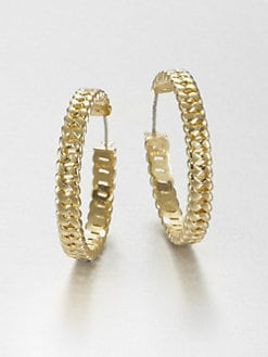 Marc by Marc Jacobs - Curb Chain Hoop Earrings
