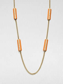 ABS by Allen Schwartz Jewelry - Enamel Station Necklace