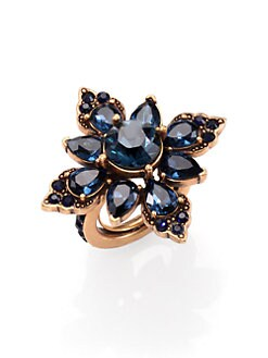 Oscar de la Renta - Jeweled Cocktail Ring