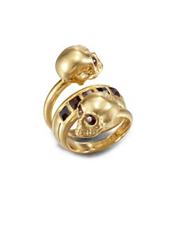 Alexander McQueen - New Twin Ring/Gold