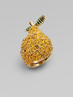 Marc by Marc Jacobs - Anniversary Pavé Pear Ring