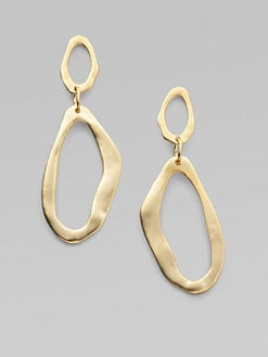 Kenneth Jay Lane - Asymmetrical Link Drop Earrings