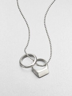 Maison Martin Margiela - Double Ring Pendant Necklace