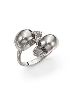 Alexander McQueen - Twin Skull Ring