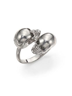 Alexander McQueen - Twin Skull Ring