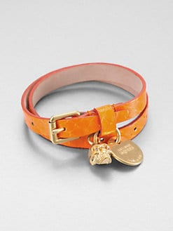 Alexander McQueen - Leather Buckle Bracelet