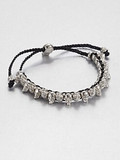 Alexander McQueen - Alternating Skull Bead Bracelet