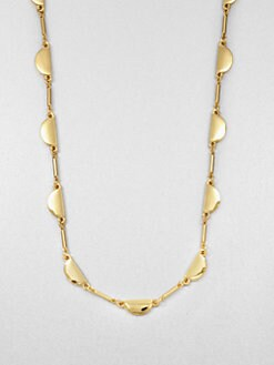 Kate Spade New York - Scallop Link Necklace/Goldtone