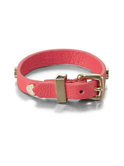 Marc by Marc Jacobs - Leather Buckle Bracelet