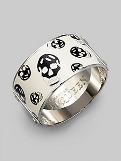 Alexander McQueen - Wide Skull Bracelet