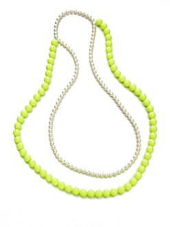 FLorian - Double Bead Necklace