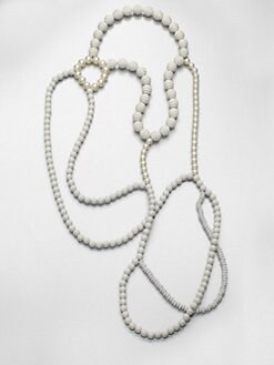 FLorian - Beaded Bib Necklace