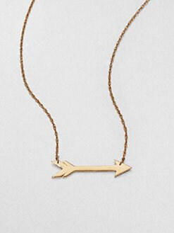 Jennifer Zeuner Jewelry - Arrow Necklace