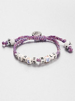 Venessa Arizaga - Girls Rule Beaded Bracelet