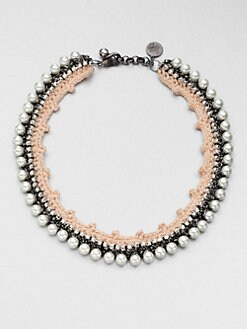 Venessa Arizaga - Pretty In Pink Beaded Necklace