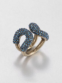 Giles & Brother - Crystal Encrusted Cortina Ring
