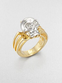 Alexander McQueen - Deco Skull Ring