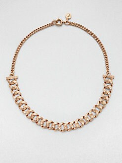 Marc by Marc Jacobs - Textured Chain Link Necklace