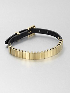 Michael Kors - Leather and Link Bracelet