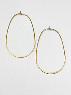 Michael Kors - Large Oval Hoop Earrings