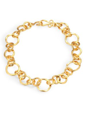 "Coronation Large Chain Necklace/18"""