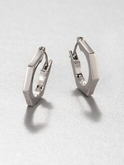 Marc by Marc Jacobs - Bolt Slice Huggie Earrings