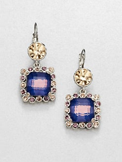 Marc by Marc Jacobs - Jewel-Framed Drop Earrings