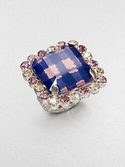 Marc by Marc Jacobs - Jewel-Edged Ring