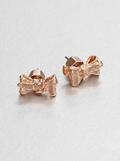 Marc by Marc Jacobs - Tiny Bow Stud Earrings