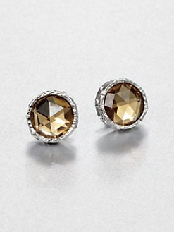 Marc by Marc Jacobs - Large Faceted Studs/Brown