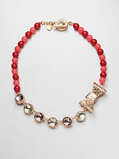 Marc by Marc Jacobs - Exploded Bow Beaded Necklace