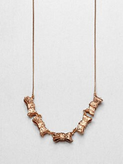 Marc by Marc Jacobs - Exploded Bow Link Necklace